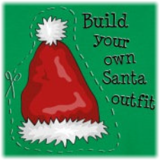 Weihnachten Geschenke Motiv Build your own santa outfit